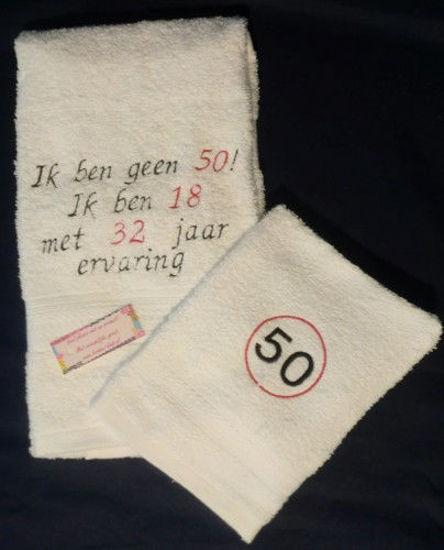 Afbeeldingen van Handdoeken set Abraham/Sarah