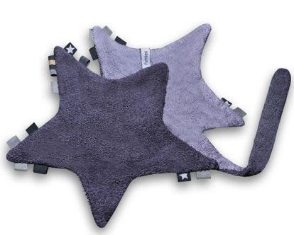 Afbeeldingen van Labeldoek ster met naam