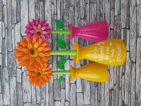Afbeelding voor categorie Afwasborstel bloem/meisje