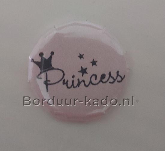 Afbeeldingen van Button 37 mm Princess