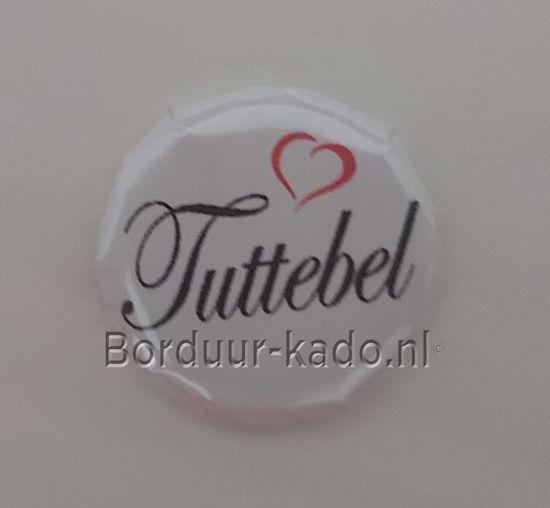 Afbeeldingen van Button 58 mm Tuttebel