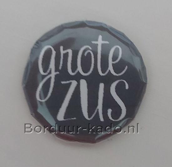 Afbeeldingen van Button 25 mm Grote Zus